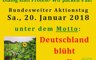 Deutschland blüht auf am 20.01.18