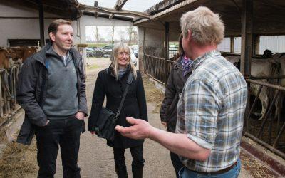 Hoftour – Landwirte in Bremen besucht